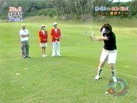 井上和香ちゃん 所さんの楽しいゴルフ 04